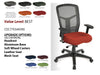 # 4 Best Task Chair Cool Mesh Synchro, Multi-functional High Back w/ Black Frame