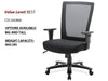 # 12 Best Task Chair BIG and TALL High Back w/ Black Base