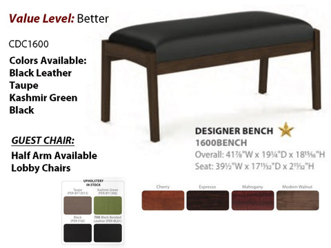 #3 Better Guest Designer Bench