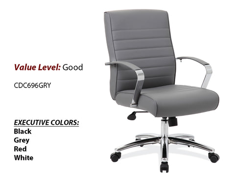#11 Good Executive High Back Chair GREY