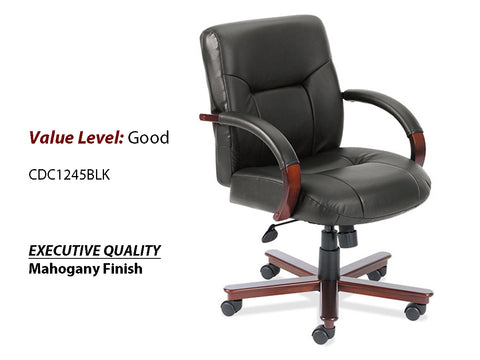 #12 Good Executive Mid Back Chair