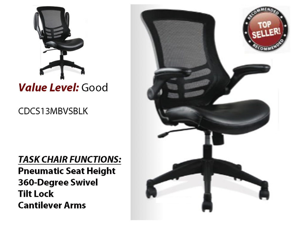 #1 Good Task Chair w/ Black Frame