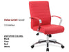 #11 Good Executive High Back Chair Red