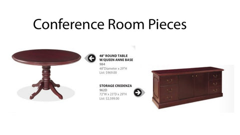 Conference Room Traditional Essential Pieces