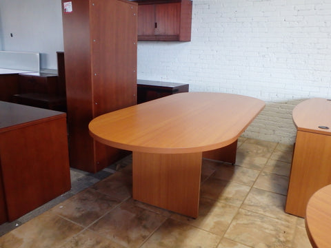 NEW SPECIALSCONTEMPORARY LAMINATE CONFERENCE TABLE 8FT