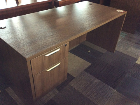 CONTEMPORARY DESK W/ B/F