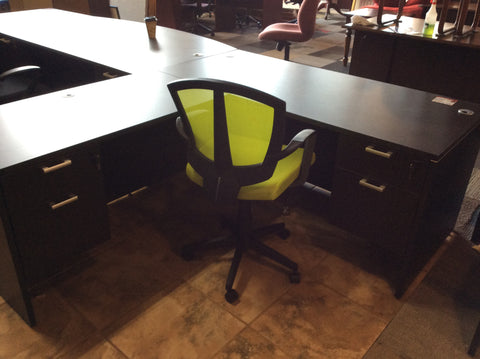 L-SHAPE DESK WORK STATION