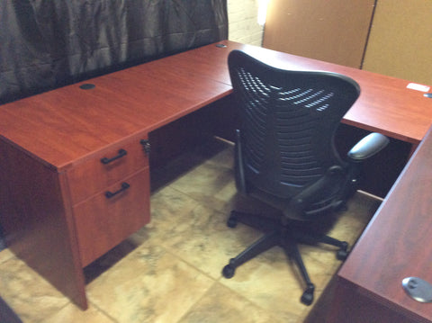 L-shape desk