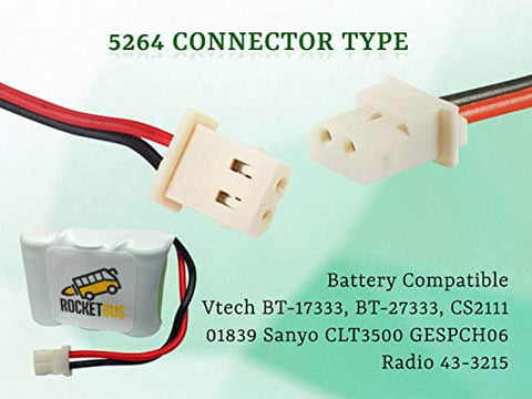 Image of Battery Pack for Vtech 3.6V Cordless Phone