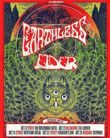 Earthless Elder Australian Tour
