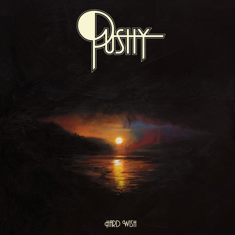 Pushy - Hard Wish LP - chocolate brown vinyl - OUT NOW