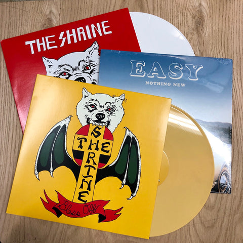 "The Shrine - both LPs + 7"" bundle"