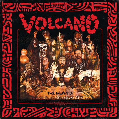 Volcano - The Island LP - lava red vinyl - OUT NOW