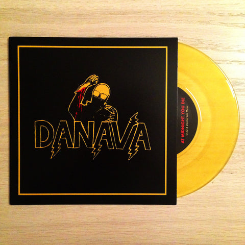 "Danava - ""At Midnight You Die"" 7"" OUT NOW"