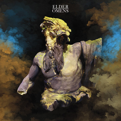 Elder - Omens 2LP - gold and dark blue swirl - NOW IN STOCK!