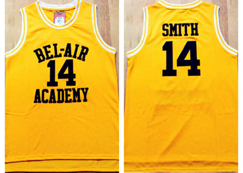 Bel-Air Academy Will Smith Jersey(Yellow)™