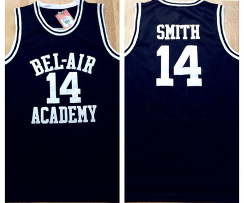 Bel-Air Academy Will Smith Jersey(Black)™