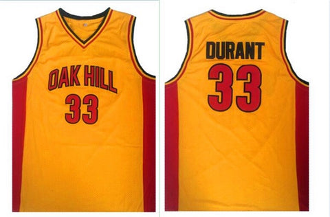 Oak Hill Kevin Durant Jersey(Yellow)™
