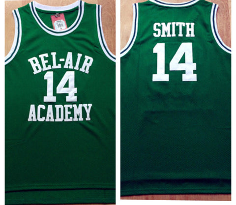 Bel-Air Academy Will Smith Jersey(Green)™