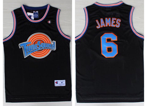 Space Jam Lebron James Jersey(Black)™