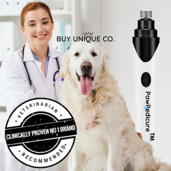 PawPedicure™ Painless Nail Trimmer with USB charging