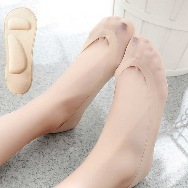 3D Feet™ socks for painless heels