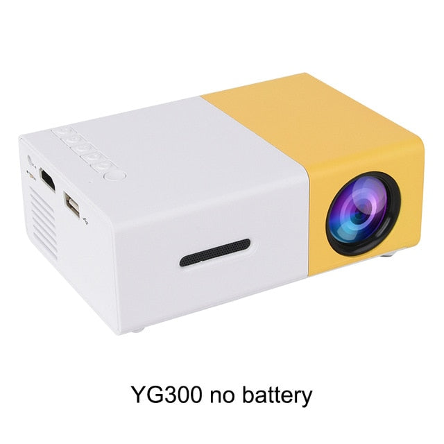 Portable Pocket LED Projector