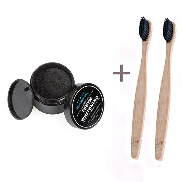 Charcoal Teeth Whitener Powder