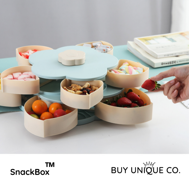 SnackBox™ Eco-Friendly Blooming Flower Snack Box