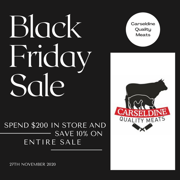 Black Friday Sale | 27th November 2020