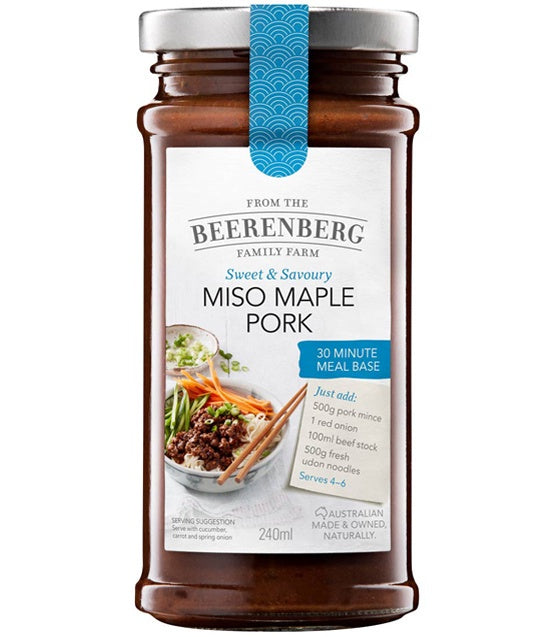 Miso Maple Pork Meal Base
