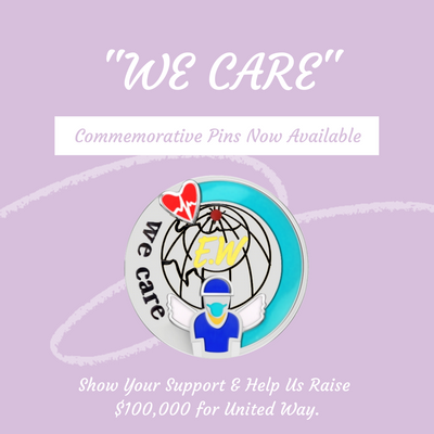 "Sonia Danielle Pledges to Raise $100,000 Through ""WE CARE"" Pins"