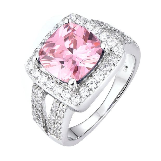Pink Cocktail Halo Ring - Sonia Danielle