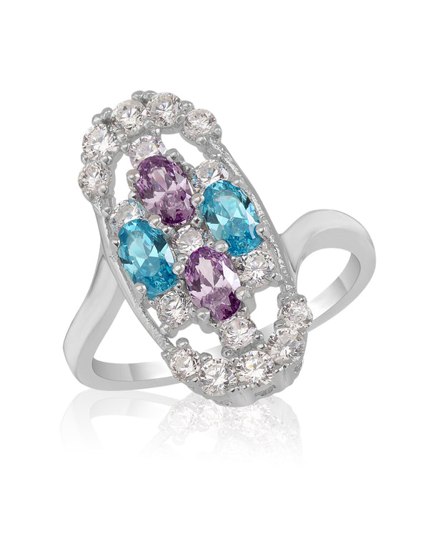 Winter Sky   CZ Ring - Sonia Danielle