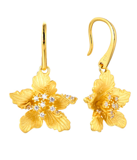 Matte Flower Earrings - Sonia Danielle