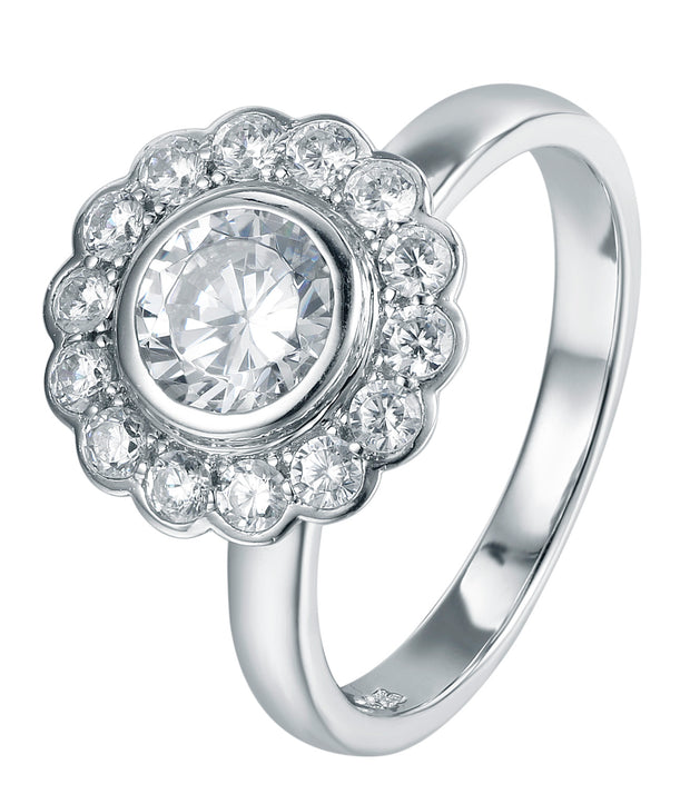 Flower Halo Ring - Sonia Danielle