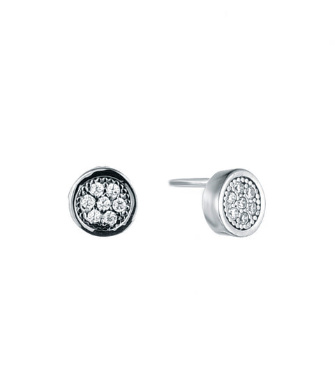 Pave Disc Studs - Sonia Danielle
