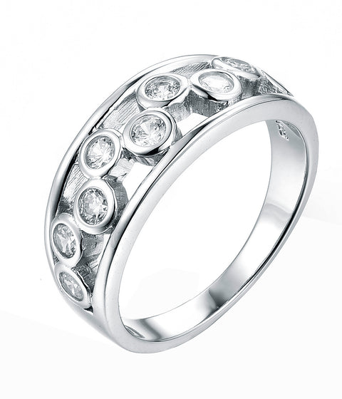 Floating Bezel Ring - Sonia Danielle