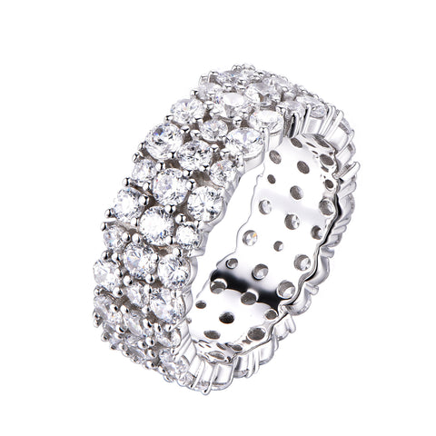 Triple Row Eternity Band - Sonia Danielle