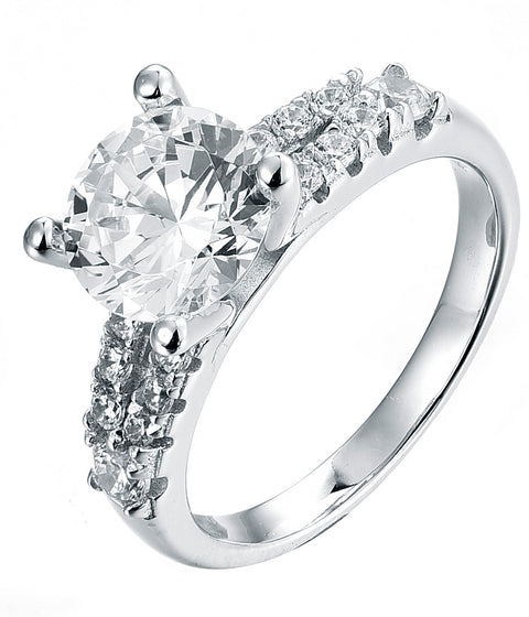 Engagement Ring Split side - Sonia Danielle