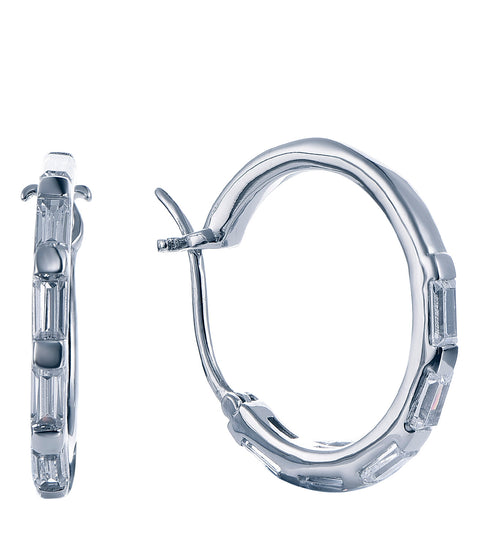 Baguette Hoop Earrings - Sonia Danielle