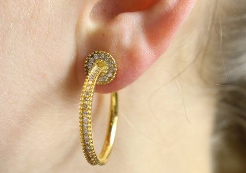 Clockwork Earrings - Sonia Danielle