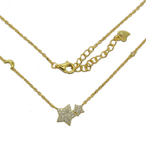 Stars And Moon Pendant - Sonia Danielle