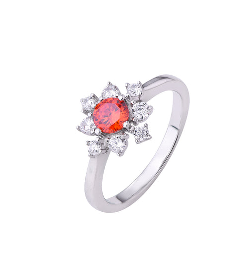 Orange Starburst Ring - Sonia Danielle