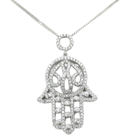 The Hamsa Hand Necklace - Sonia Danielle