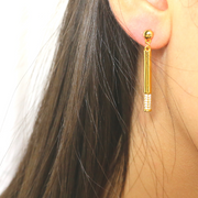 Accented Drop Earrings - Sonia Danielle