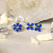 Blue Flower Earrings - Sonia Danielle