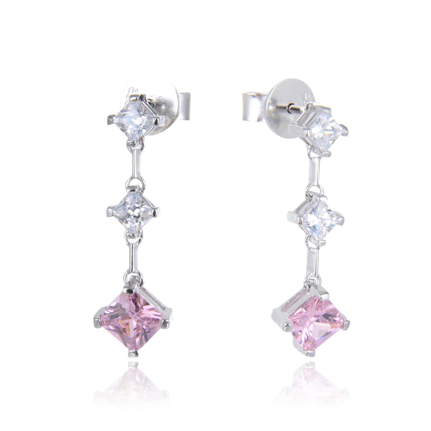 Pretty In Pink Earrings - Sonia Danielle