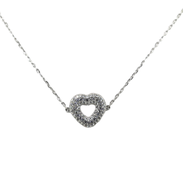 Large Heart Necklace - Sonia Danielle