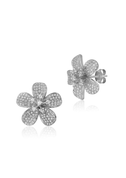 5-Petal Flower Earrings